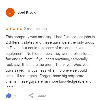 google-review-rocky-hill-equipment